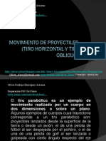 05 - Presentación 05 - Lanzamiento De Proyectiles (Lanz. Horizontal y Oblicuo)