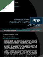 07 - Presentación 07 - M.R.U y Movimiento Uniforme Acelerado