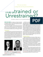 Restrained & Unrestrained Condition for Fire Resisrance Rating-Topic