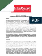 ArtePerú - Warmayllu (propuesta de educación intercultural a través del arte)
