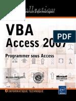 VBA Access 2007 Programmer Sous Access