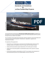 SIGTTO SGMF - Standards Guidelines Natural Gas Fuelled