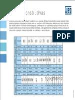 WEG Formas Contrutivas de Motores Eletricos Wmo008 Guia de Instalacao Portugues Br
