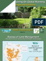 Bureau of Land Management -  Presentation - Pacific Coastal Region VGF