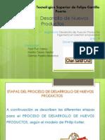 Investigación Documental de Las Etapas de Desarrollo de Un Producto y Su Ciclo de Vida, Elaborando Una Presentación en Power Point.