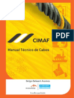 Cabos Manual Técnico CIMAF 2014