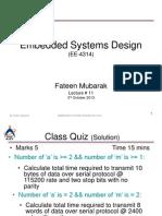 Embeded system session 6