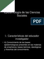 Epistemología de Las Ciencia Sociales