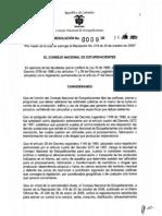 Resolucion Cne 0009 de 2009 (1)