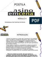 Apostila Ensino Em Cena - Módulo II - Edição 2009