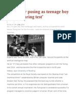 Computer Posing as Teenage Boy Passes 'Turing Test'