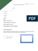 assessment 6 items miaa 330