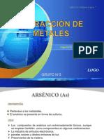 Antimonio y Arsenico