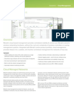 Meraki Datasheet Cloud Management