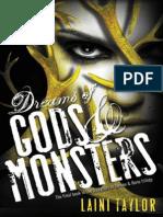 Dreams of Gods Amp Amp Monsters - Laini Taylor