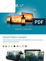 DaCast Overview 2014