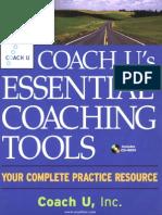 Coach U - Essential Coaching Tools
