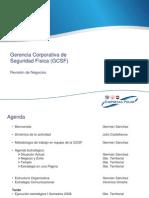 Revisión Negocio Seguridad 2008