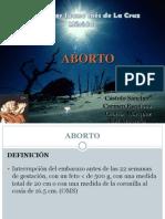 Aborto - Sor Juana Inés-presentación