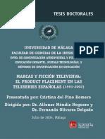 Marcas y Ficcion Televisiva El Producto Placement en Las Teleseries Espanolas