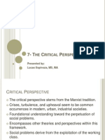7- The Critical Perspective