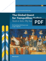 The Global Quest for Tranquilitas Ordinis