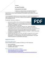 IMD11108 Reflective Statement Guidance