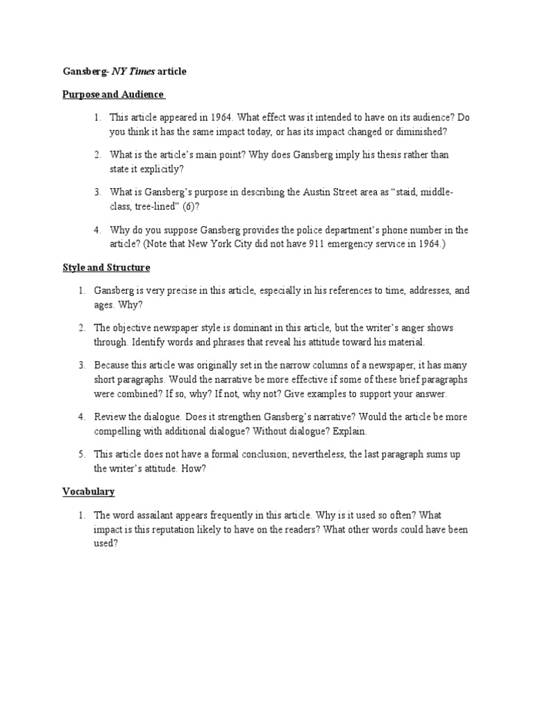 American history essay thesis