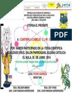 RECONOCIMIENTO ALUMNOS F.C. 2014 DIRECTORES.ppt