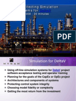Architecting DeltaV Simulation Systems