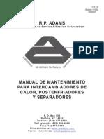 Aftercooler O&M Manual-Bulletin 710D-Spanish