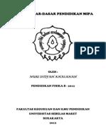 Paper DaspenMIPA Nuri Istifah Khasanah B K2312055