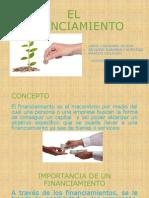 Diapositivas de Financiamientos