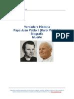 Biografía PapaJuanPabloIIKarolWojtyla