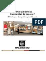 ¿Cómo Evaluar una Oportunidad de Negocio.pdf