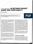 The Relation Between Market Share and Profitability