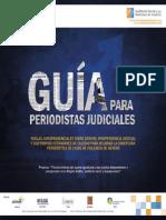 Guía para periodistas judiciales