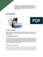 Características Samsung