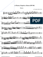 Vivaldi Suonata a 2 RV 86 Flauto 0