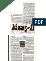 Ideas of Arno Penzias II