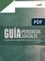 Guía para periodistas Judiciales Volumen 2