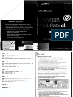 Cambridge CPE - Common Mistakes at Proficiency and How to Avoid Them