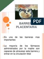 Barrera Placentaria