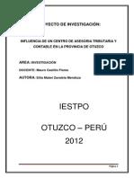 Proyecto de Investigacion Contabliadad 2012