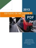 Proyecto Metodos y Tiempo2013