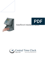 Hand Punch Installation Guide 2009