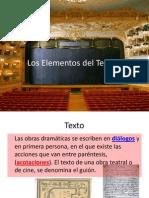 Los Elementos Del Teatro