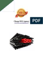 Cheap SEO Agency