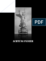achtung panzer production book