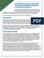 Efectos de La Incorporación a La Dieta de Un Derivado Industrial Del Ajo Sobre La Microbiota Intestinal de Pollos